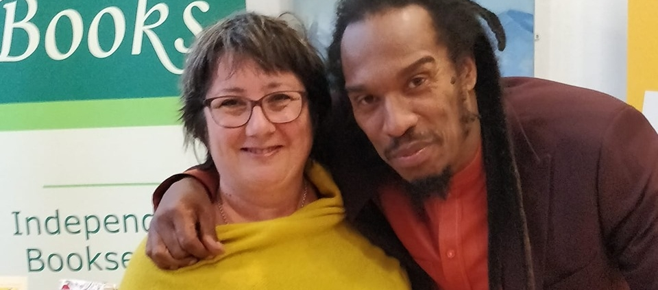 Meeting Benjamin Zephaniah at Hexham Book Festival